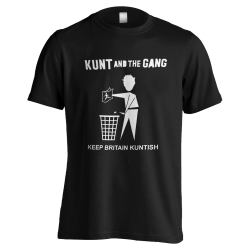 Keep Britain Kuntish T-Shirt