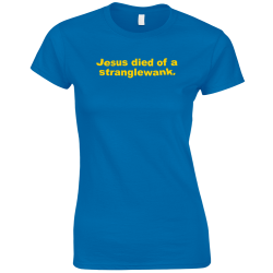 Jesus Blue Women's T-Shirt