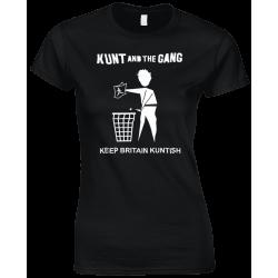 Keep Britain Kuntish Women's T-Shirt